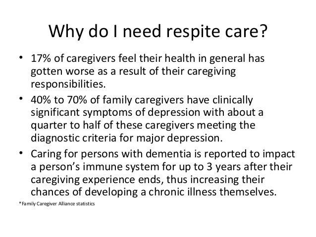 The Necessity Of Respite For Caregivers >> Respite Care Avoiding Caregiver Burnout