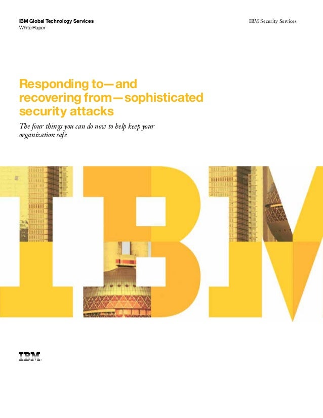 IBM Global Technology Services                         IBM Security Services                                              ...