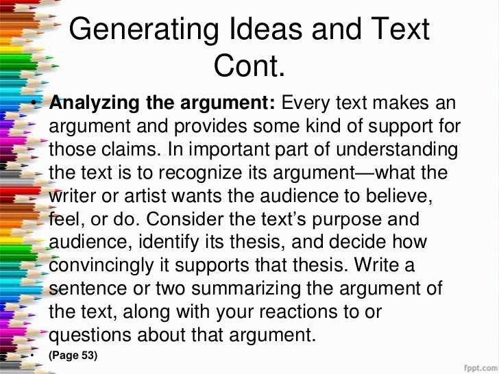 Responding to Text: How to Get Great Written Answers