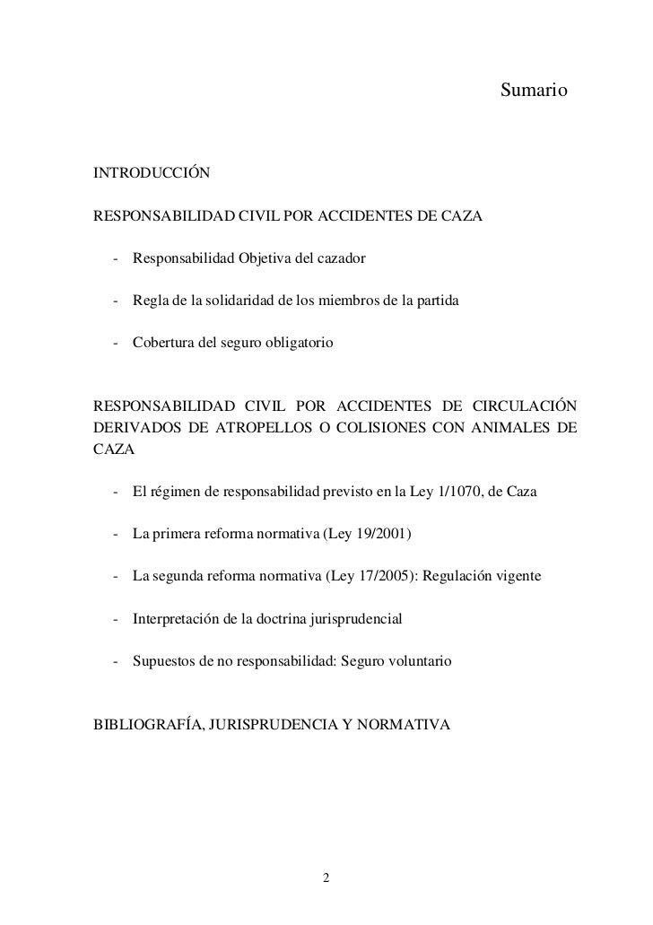 Responsabilidad civil cineg tica y seguro for Seguro responsabilidad civil autonomos obligatorio