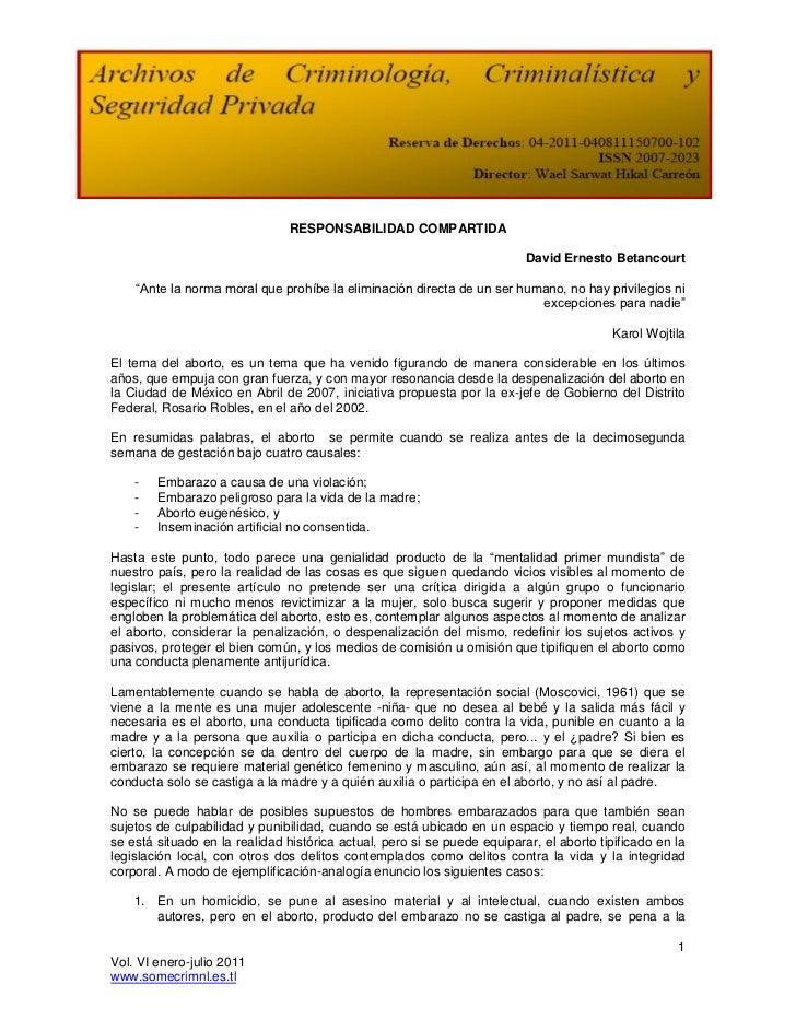 RESPONSABILIDAD COMPARTIDA                                                                          David Ernesto Betancou...