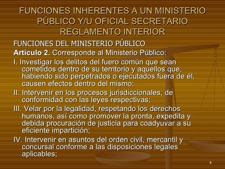 Responsabilidad de servidores p blicos supervision y control for Ley del ministerio del interior