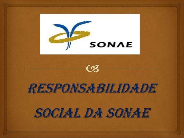 RESPONSABILIDADESOCIAL DA SONAE