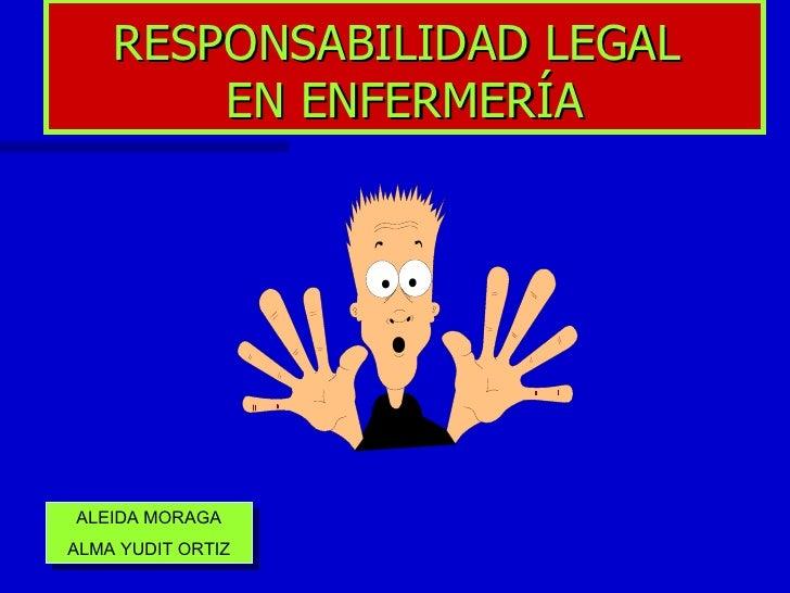 Responsabilidad legal ale for Responsabilidad legal