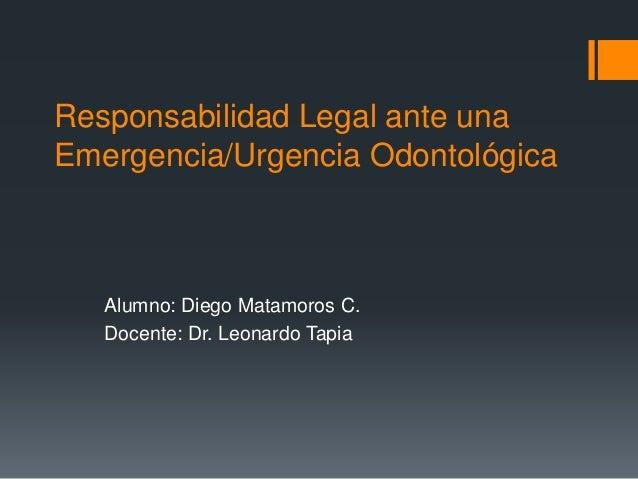 Responsabilidad legal ante una emergencia for Responsabilidad legal