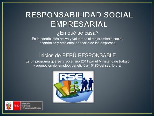 Responsabilidad Social Empresarial Lan Peru