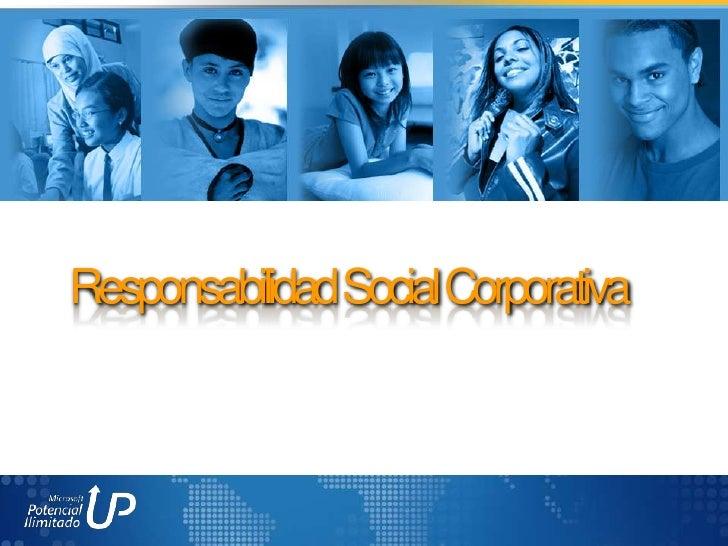 Responsabilidad social Microsoft