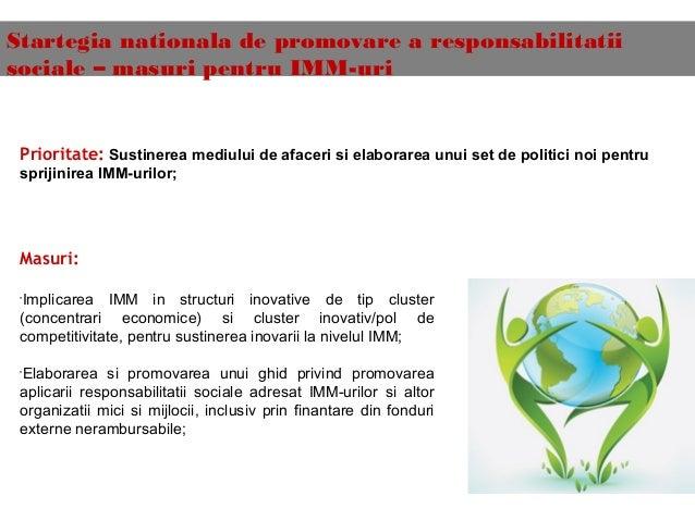 csr responsabilitatea sociala a intreprinderii Reţeaua locală a pg este alcătuită din 14 întreprinderi naţionale şi  global (pg ) şi responsabilitate socială corporativă (rsc) şi implicaţia lor asupra comunităţii de business din moldova  de csr trebuie bazate pe criterii clare de eligi.