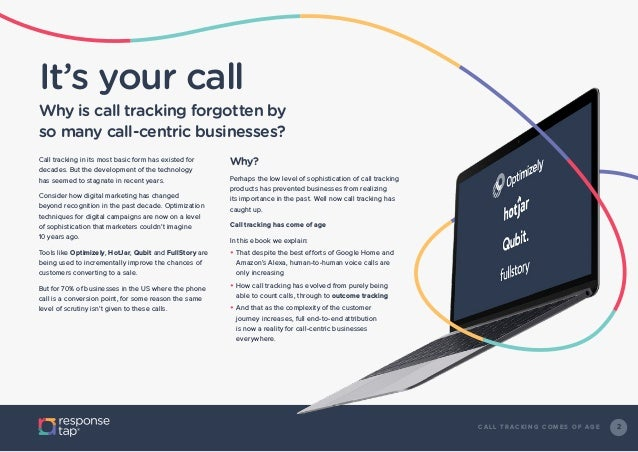 Call tracking comes of age Slide 2