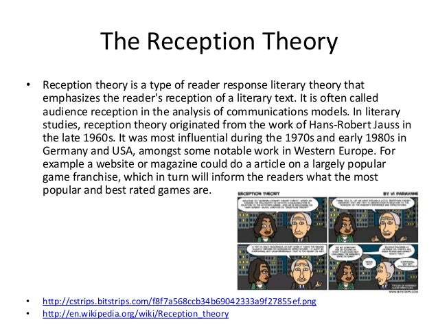 hans robert jauss reception theory pdf