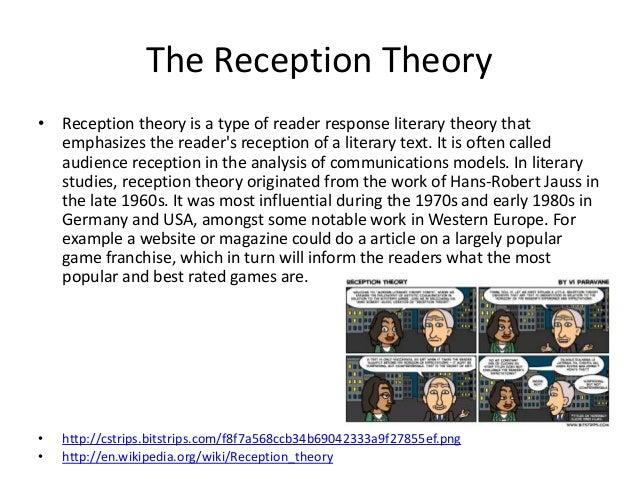 hans robert jauss reception theory pdf