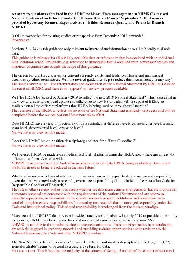 nhmrc research proposal template