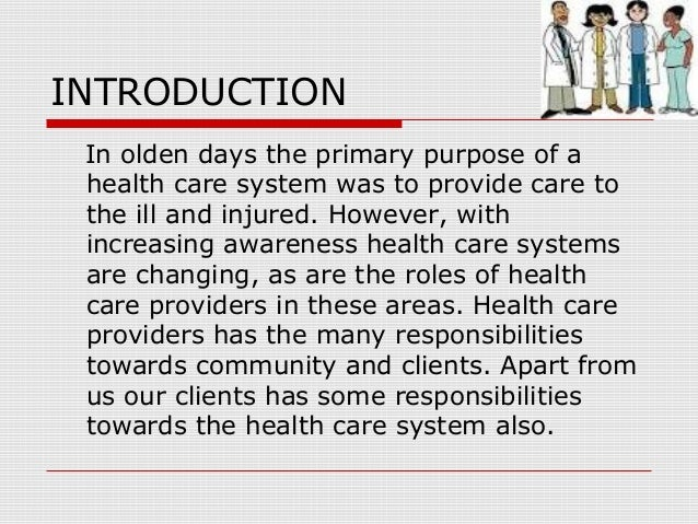 health care professionals list