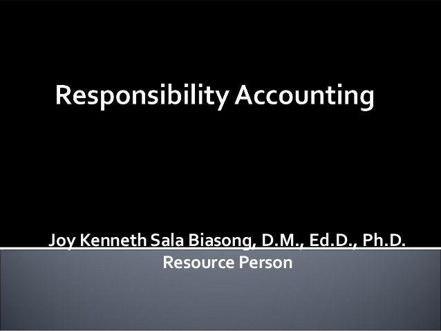 Joy Kenneth Sala Biasong, D.M., Ed.D., Ph.D. Resource Person