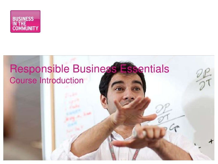 Responsible business essentials: Employee engagement for SME's