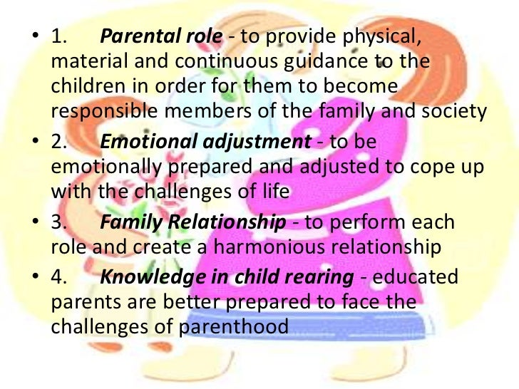 the responsibilities of parenthood Define parenthood parenthood synonyms, parenthood  baby or child care, fathering or mothering she may not feel ready for the responsibilities of parenthood.