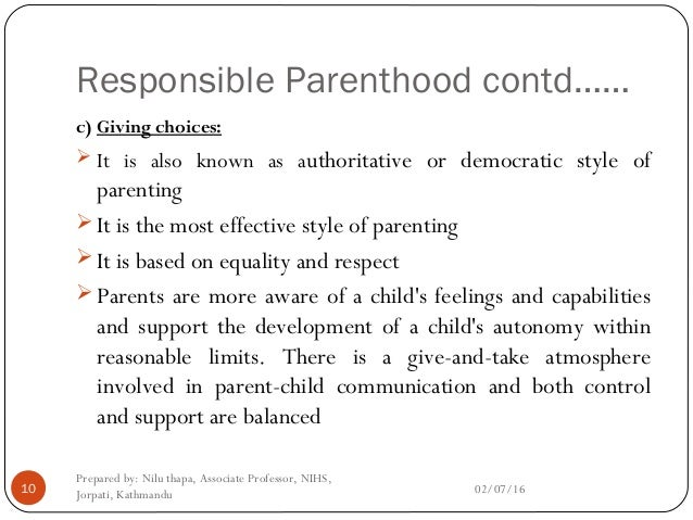 responsible parenthood Responsible parenthood - love - mercy - life - nfp what does responsible parenthood, love, mercy, and life have to to with natural family planning.