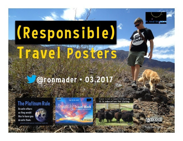Photo: Kevin Scuiller (Responsible) Travel Posters @ronmader • 03.2017