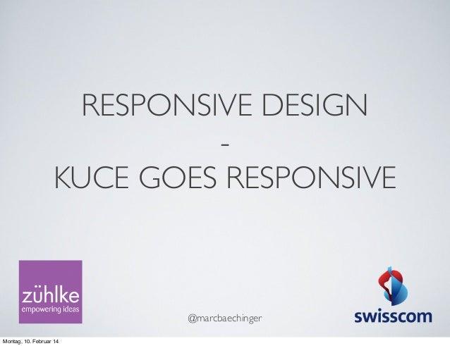 Responsive Design for the enterprise Slide 2