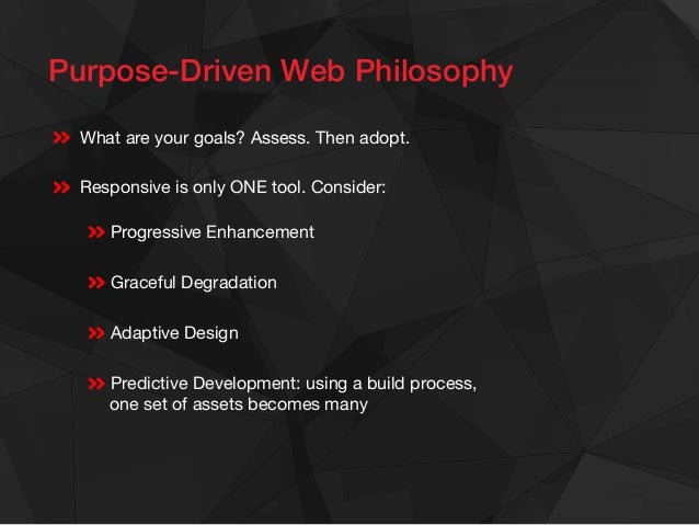 What is Predictive! Development?!  Avoids the poor performance of carelessly developed responsive sites   Provides faste...