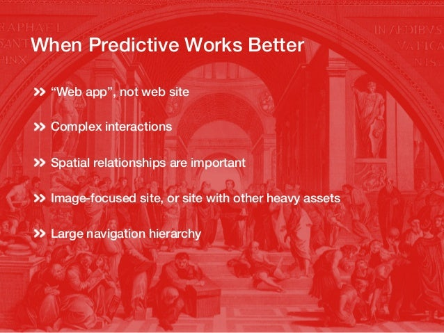 Interactions First means Predictive!