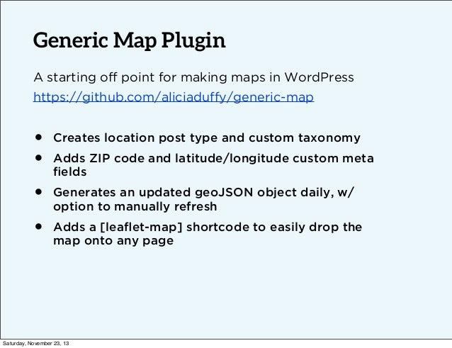 Responsive Maps in WordPress