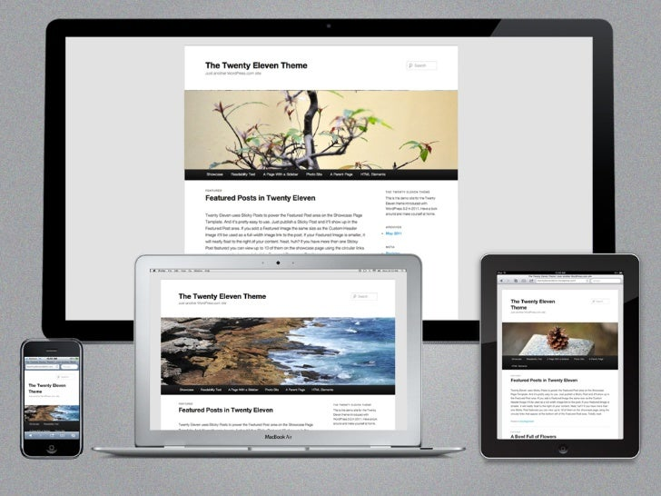 """BE RESPONSIVE!    Responsive Design has to do with""""   being as canvas agnostic as possible,    while offering a consistent ..."""