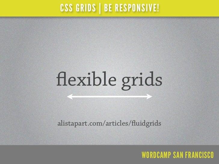 CSS GRIDS | BE RESPONSIVE!    lessframework.com