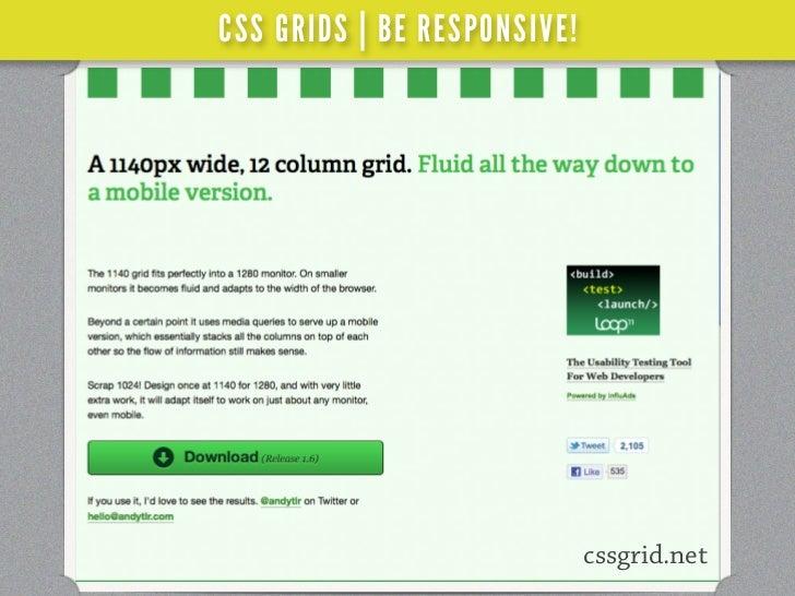 CSS GRIDS | BE RESPONSIVE!     %                     WORDCAMP SAN FRANCISCO