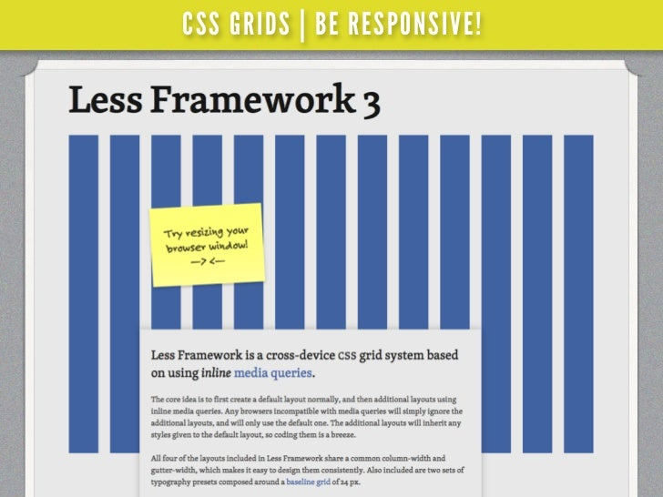 CSS GRIDS | BE RESPONSIVE!target ÷ context = result              940              100%        720               220   76.5...