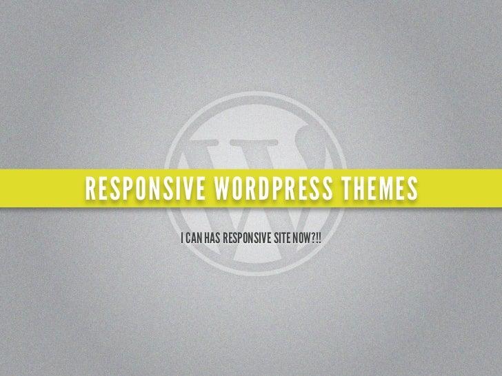 RESPONSIVE WORDPRESS THEMES   reactdemo.wordpress.com