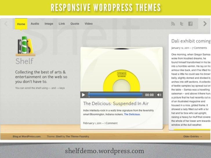 RESPONSIVE WEB DESIGN                 ank You!          slideshare.net/saracannonsara cannon / sara-cannon.com / @saracan...