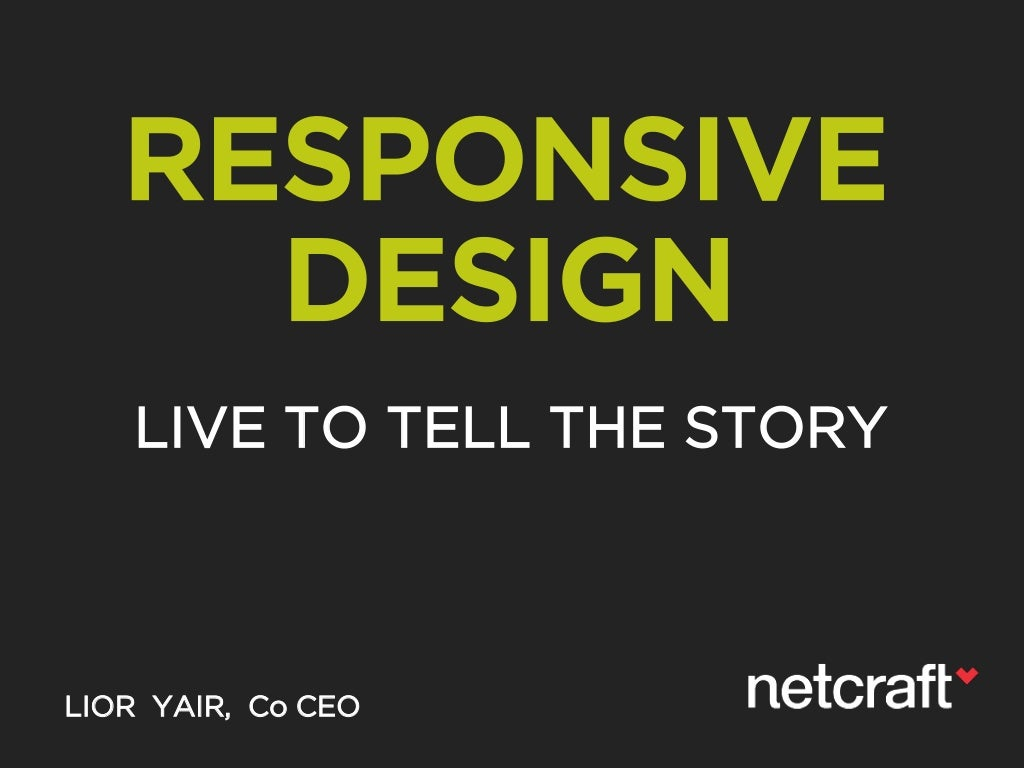 Responsive Design - New UX Methodologies