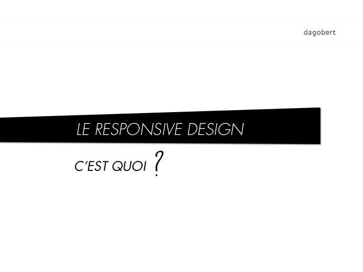 Introduction Au Responsive Web Design