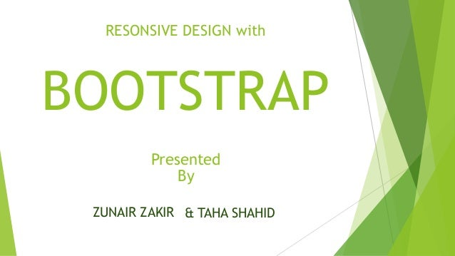 Responsive Web Design Through Bootstrap