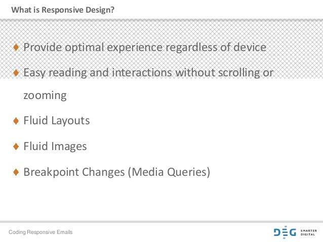 Coding for Responsive Email Slide 2