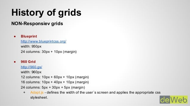Responsive grids overview responsive grids short overview of general grids 2 malvernweather Images