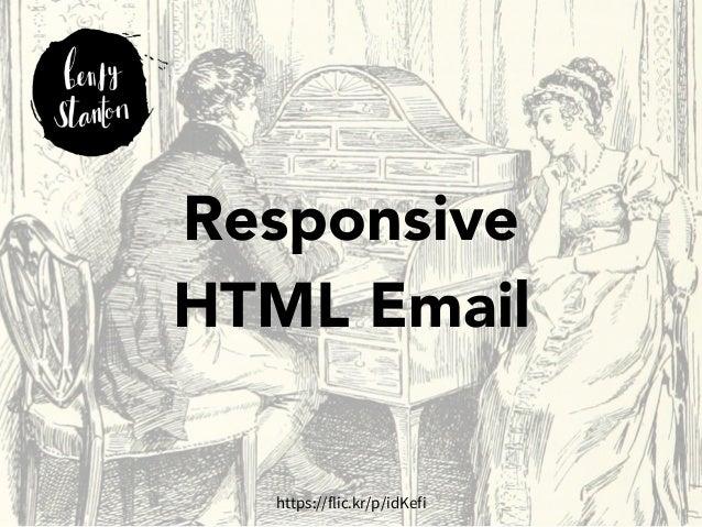 Responsive  HTML Email  https://flic.kr/p/idKefi
