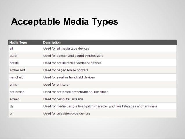 media queries=conditional