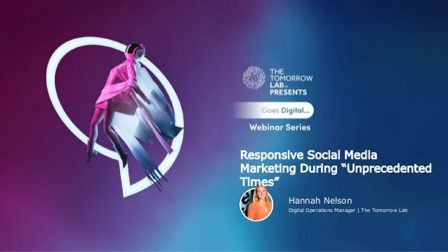 """Hannah Nelson Digital Operations Manager 