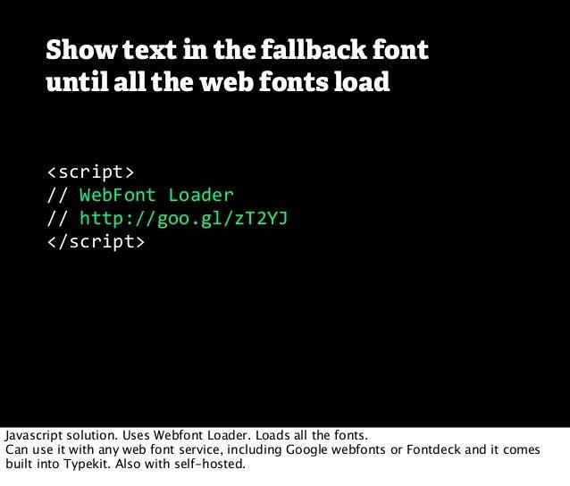 Responsive Web Fonts