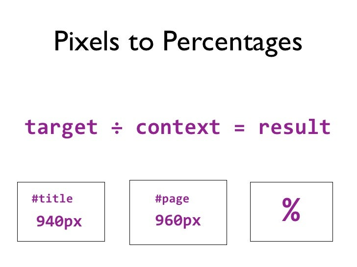 940px ÷ 960px = 0.979166666666667        97.9166666666667%      target ÷ context = result