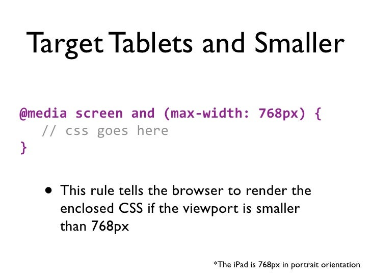 Going LargerDesign for larger page@media screen and (min-‐width: 1200px) {...}Or limit your page size#page {m...