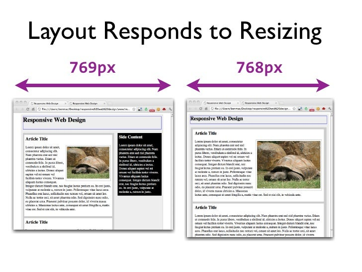 Three Components• A flexible grid-based layout• Flexible images and media• Media queries (CSS3)