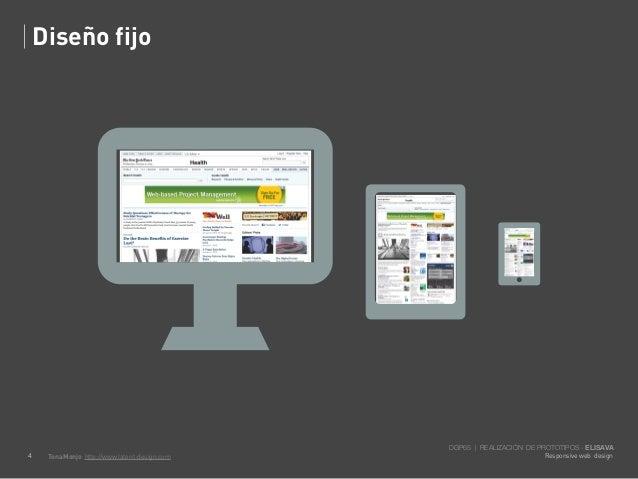 Diseño fijo                                               DGP65 | REALIZACIÓN DE PROTOTIPOS - ELISAVA4    Tona Monjo http:...