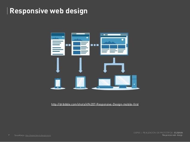 Responsive web design                                               http://dribbble.com/shots/494207-Responsive-Design-mob...