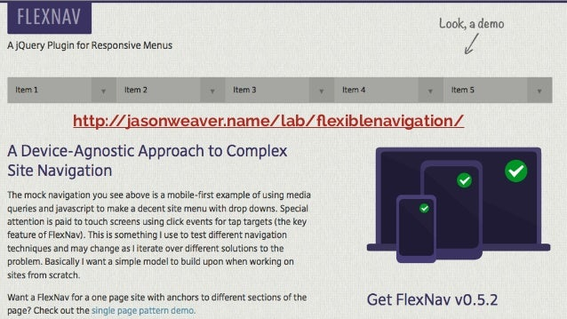 Responsive web design - frontenders Valencia