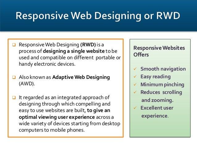 responsive web designing ppt 1