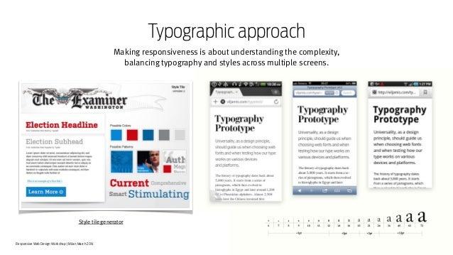 Responsive Web Design Workshop |