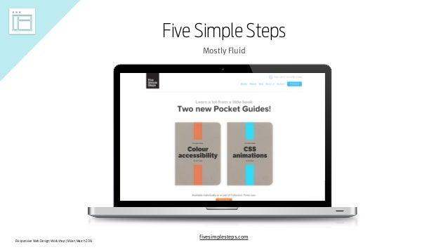 Responsive Web Design Workshop | Milan March 2014 Five Simple Steps Mostly Fluid fivesimplesteps.com